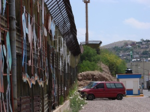 The U.S.-Mexico Border Wall in Nogales.