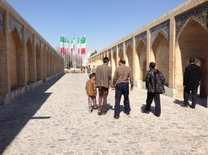 A bridge in Isfahan, Iran.  (MCC Photo/Cheryl Zehr Walker)