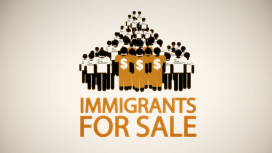 Immigrants for sale logo