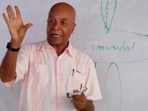 Ricardo Esquivia, a lawyer and founder of Sembrandopaz (MCC photo/Alex Morse)