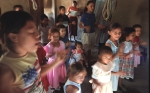 Children take part in a Sunday School class in a Brethren In Christ church in Honduras. .