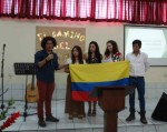 MCC honduras lifts up Colombia at service in Teguc mennonite church