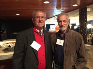 Bruce Bradshaw (left) and Lee Wheeler were in D.C. to advocate for poverty-focused foreign assistance.